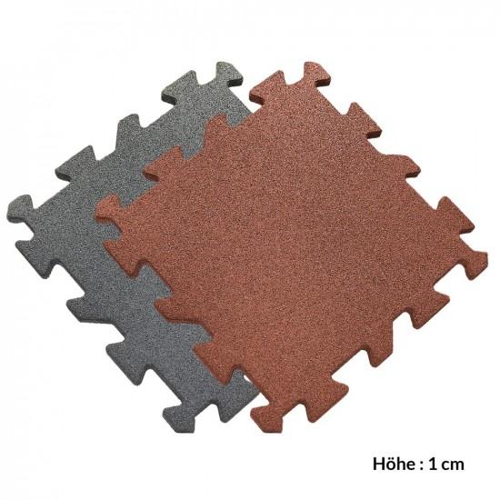 Gummimatte GranuSafe 50 x 50cm grau 1 cm 0