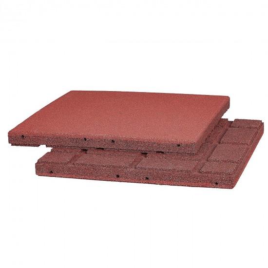 Komfort Stall- und Boxenmatte, rotbraun 0