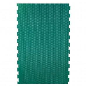 EVA-Stallmatte grün, mit seitlicher Verzahnung 0