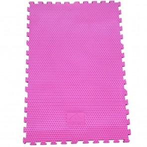 EVA-Stallmatte pink, mit Rundumverzahnung 0