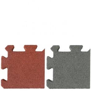 Ecke für Quadrat Stallmatten in rotbraun oder grau grau 2,5 cm 0