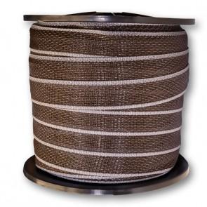 ExclusivLINE Elektro-Band 4 cm braun/weiß 0