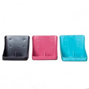 Lecksteinhalter eckig - verschiedene Farben türkis 0